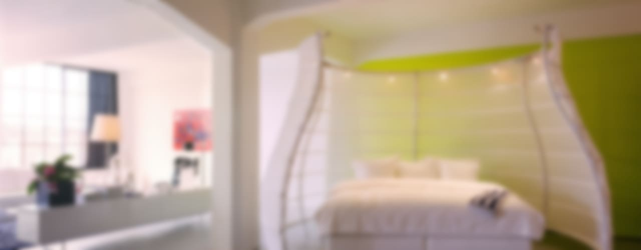 Tetem Lofts:  Slaapkamer door IAA Architecten, Industrieel