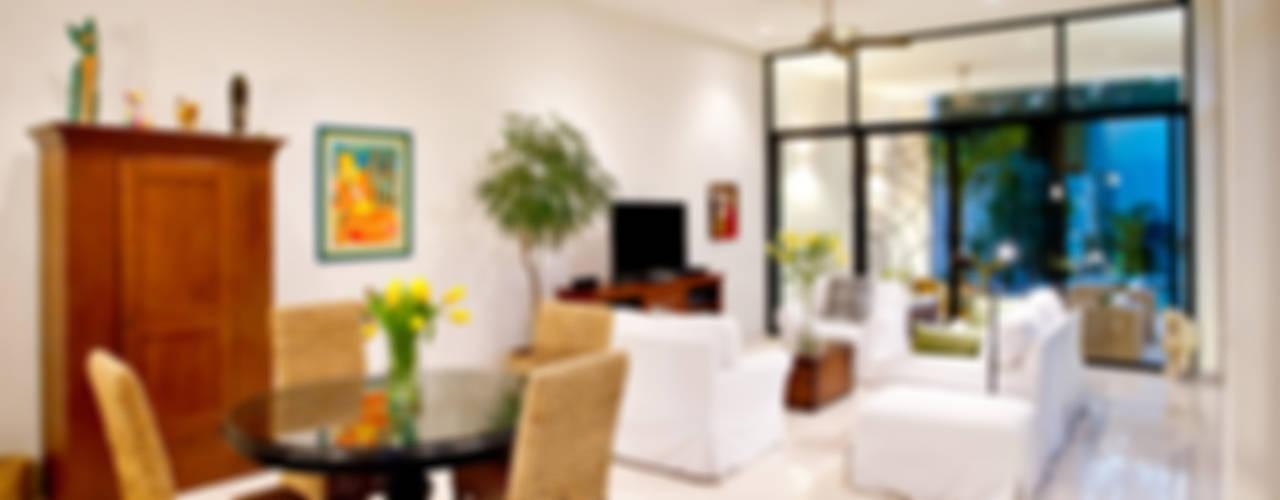 Salas de estar modernas por Taller Estilo Arquitectura Moderno