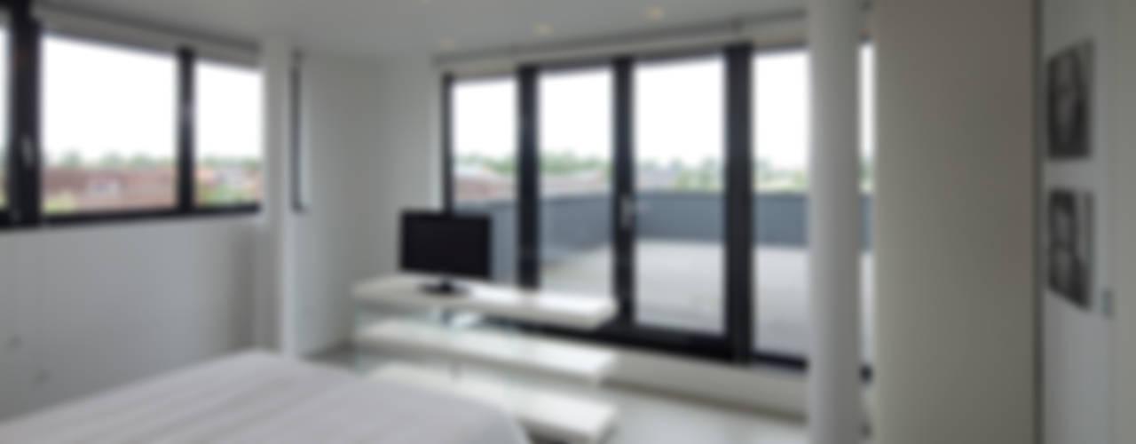 Projekty,  Sypialnia zaprojektowane przez HOYT architecten