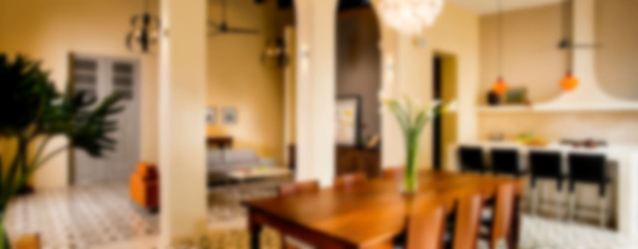 Casa WS52 Comedores coloniales de Taller Estilo Arquitectura Colonial