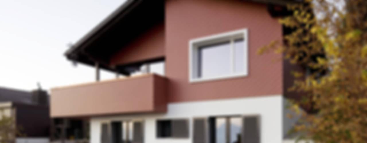 Casas de estilo  por Singer Baenziger Architekten, Moderno