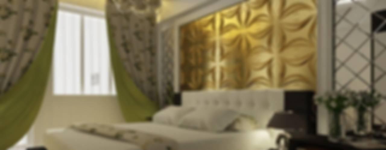 Industrial style bedroom by Diva Yapı Industrial