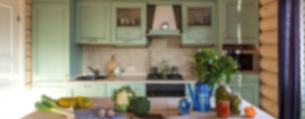 Дача 180м2 Кухня в стиле кантри от Tatiana Ivanova Design Кантри