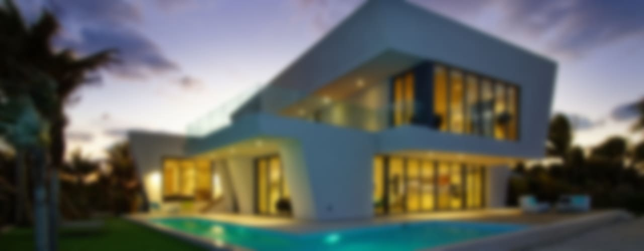 Casas de estilo moderno por Nicolas Tye Architects