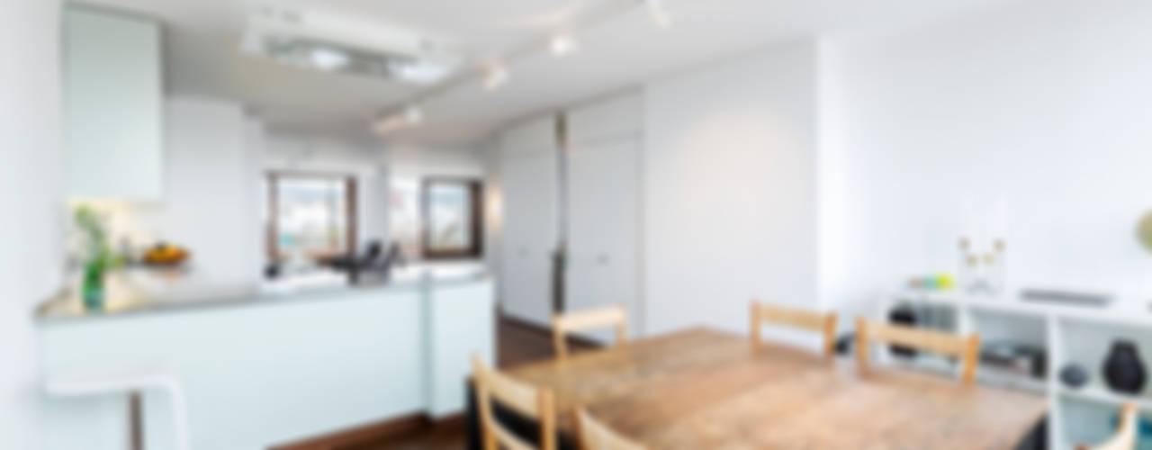 ÁTICO LOFT TK Cocinas de estilo escandinavo de RM arquitectura Escandinavo