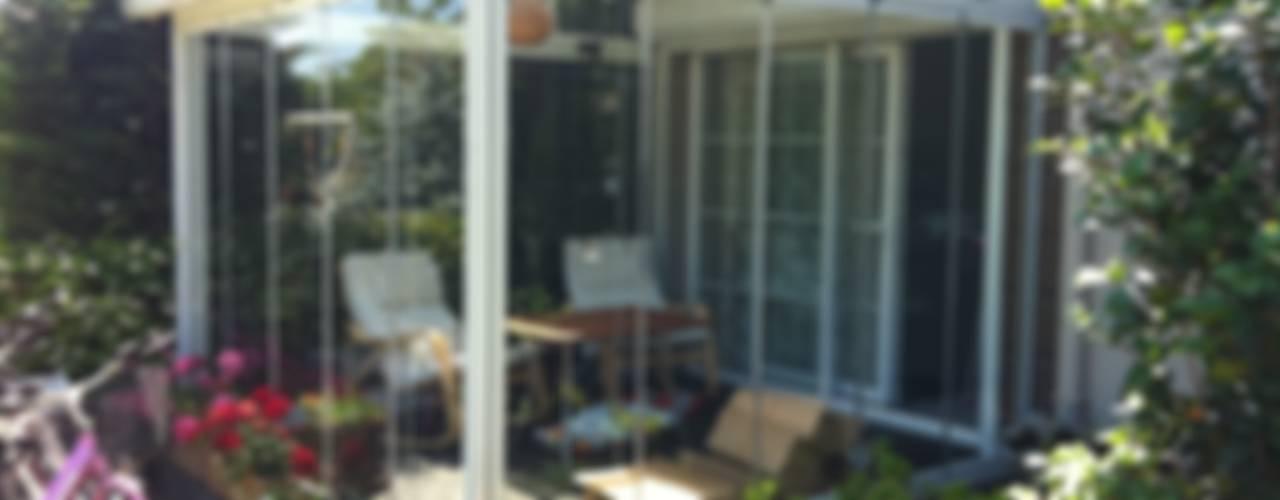 Yaz - Kış Balkon Keyfi... Modern Balkon, Veranda & Teras Albert Genau Modern