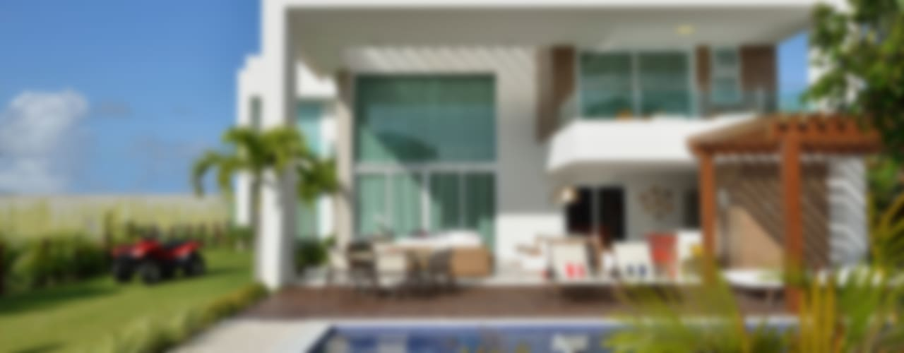 Residência Paraíso do Mar: Casas  por Pinheiro Martinez Arquitetura