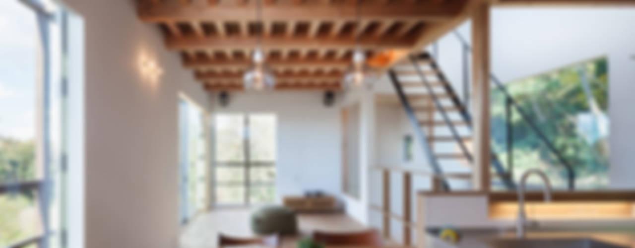 鎌倉玉縄テラス モダンデザインの ダイニング の HAN環境・建築設計事務所 モダン