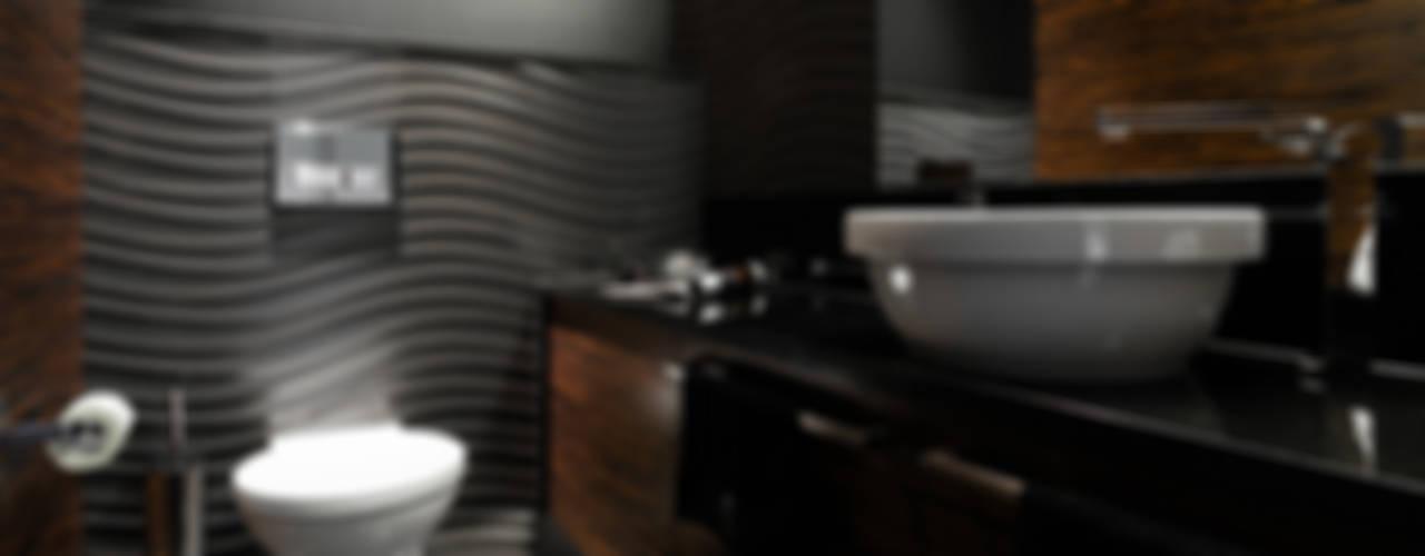 APARTAMENT - NEPTUN PARK - GDAŃSK Nowoczesna łazienka od Anna Serafin Architektura Wnętrz Nowoczesny