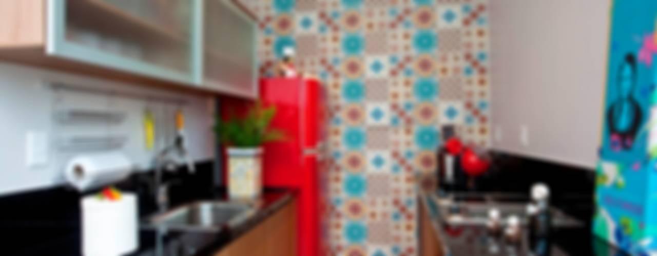 Duplex Graça por Escritório de Arquitetura e Interiores Janete Chaoui Moderno