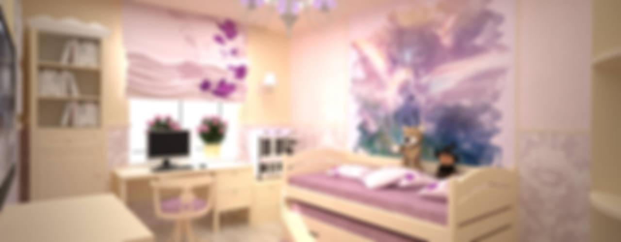 Dormitorios infantiles minimalistas de дизайн-бюро ARTTUNDRA Minimalista
