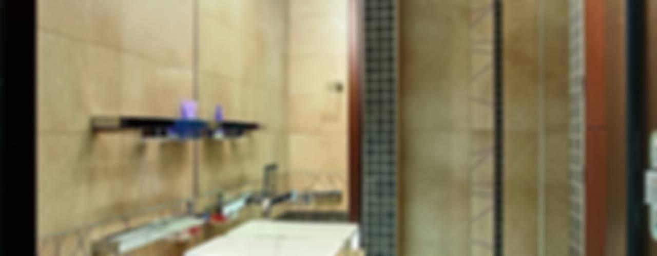Жизнь в ШОКОЛАДЕ: Ванные комнаты в . Автор – AR-KA architectural studio