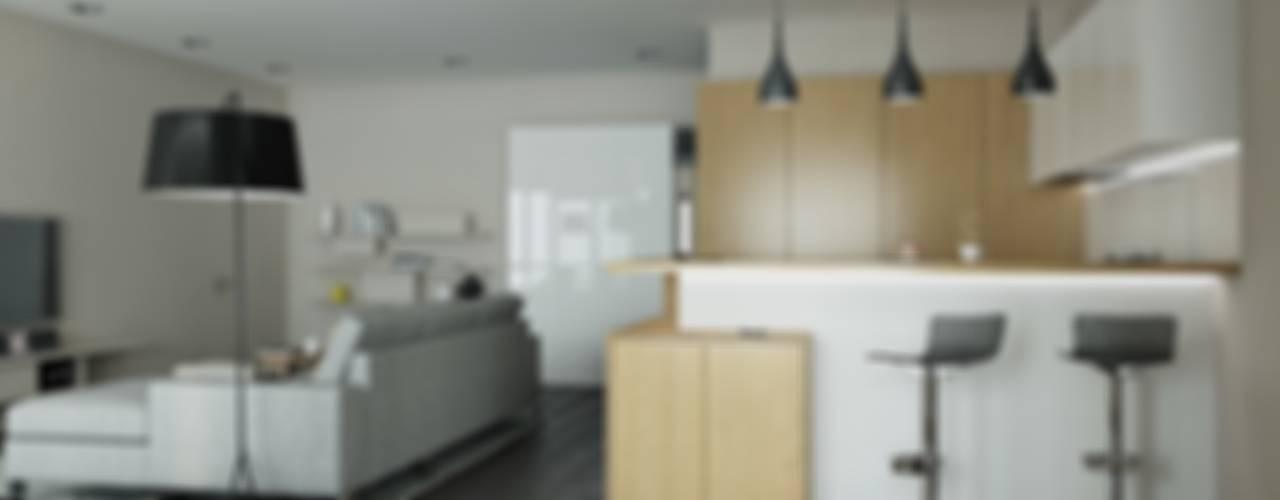 Minimalistische Küchen von Kristina Petraitis Design House Minimalistisch