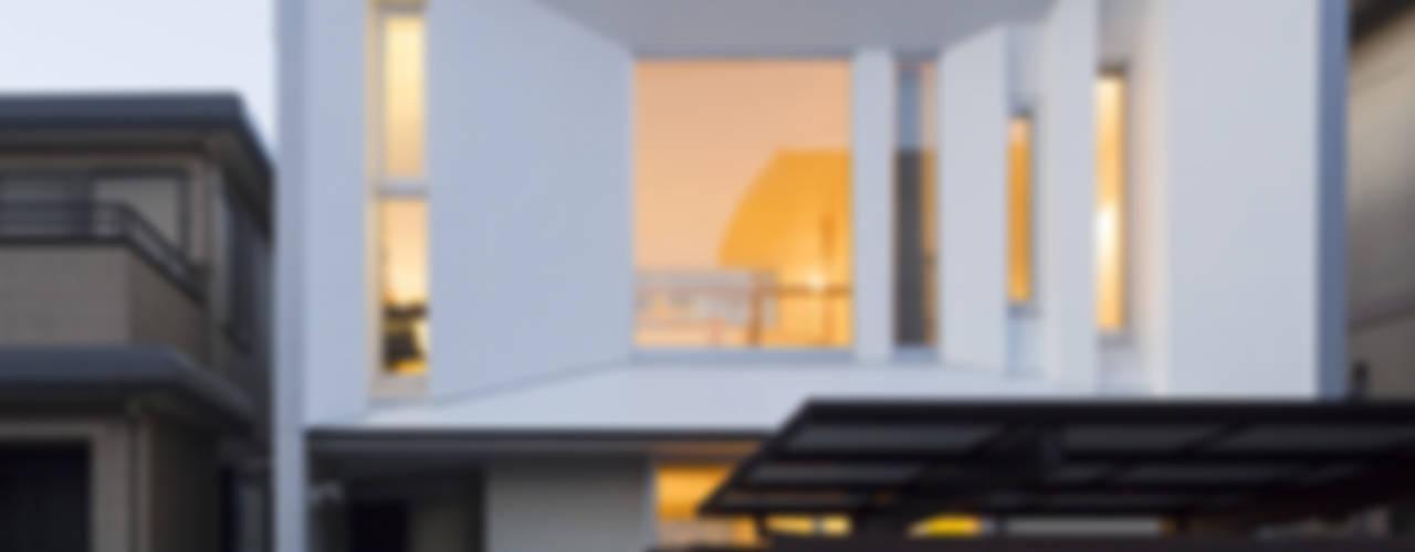 大江の住処 モダンな 家 の 岩瀬隆広建築設計 モダン