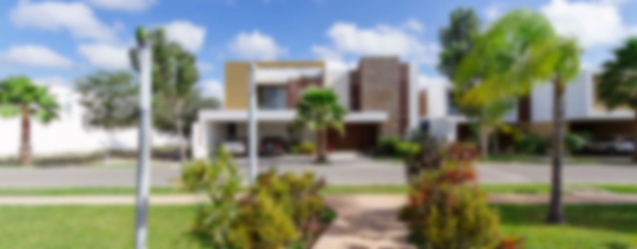 Casas modernas de Enrique Cabrera Arquitecto Moderno