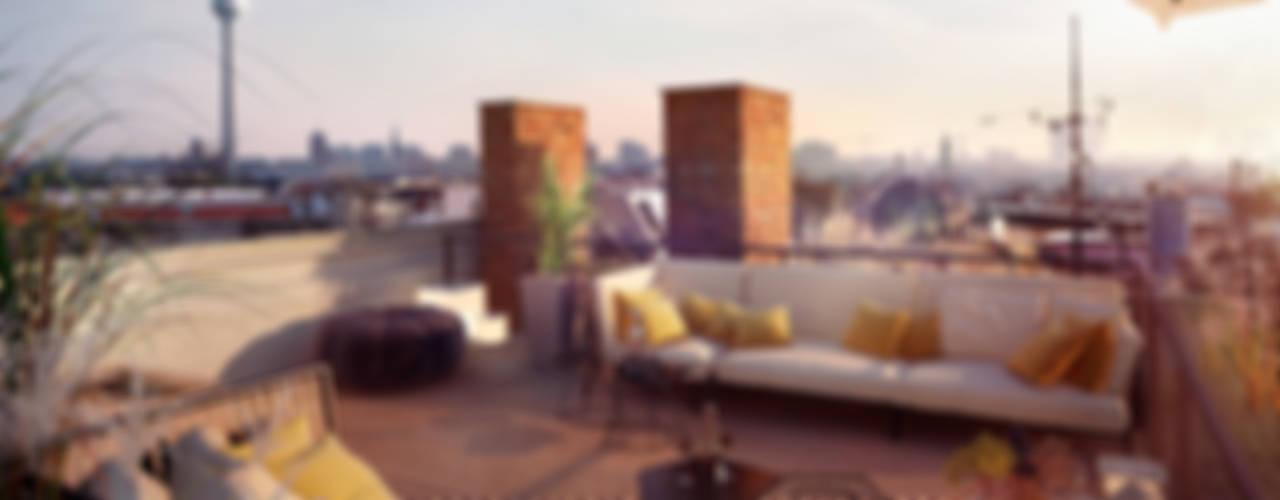 Klasik Balkon, Veranda & Teras loomilux Klasik