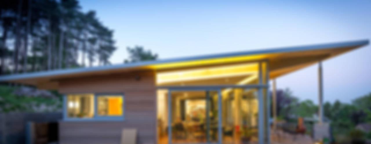 Fonds Gouvart Maisons modernes par OPEN ARCHITECTES Moderne