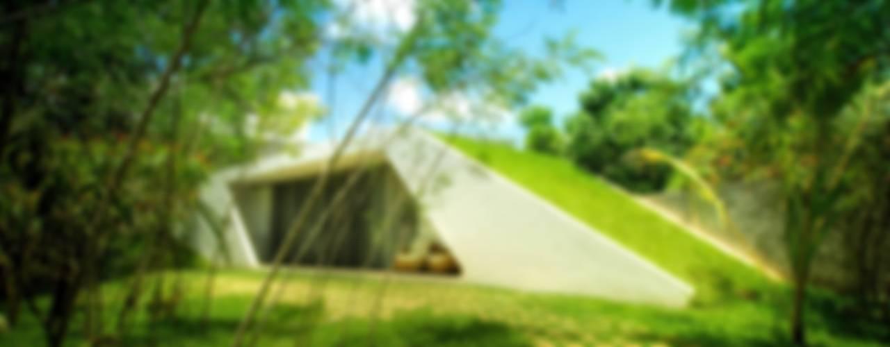 モダンな 家 の sanzpont [arquitectura] モダン