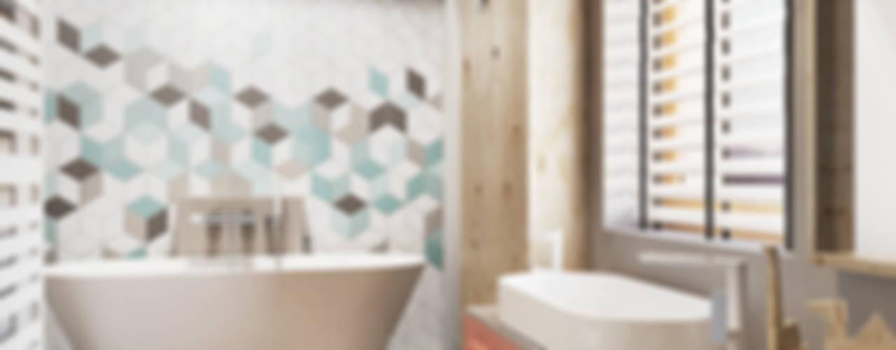Banheiros industriais por razoo-architekci Industrial