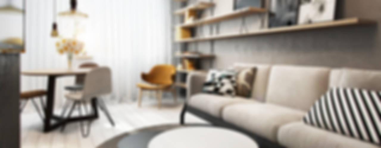 Livings de estilo  por razoo-architekci