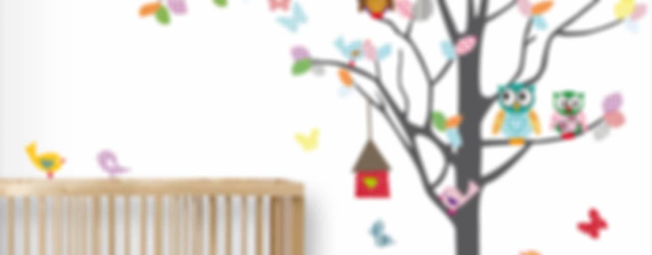 Muurstickers babykamer en kinderkamer:   door decodeco.nl