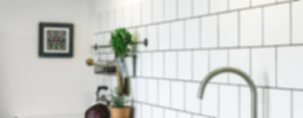 Podgórze, Kraków: styl , w kategorii Kuchnia zaprojektowany przez Odwzorowanie,Eklektyczny