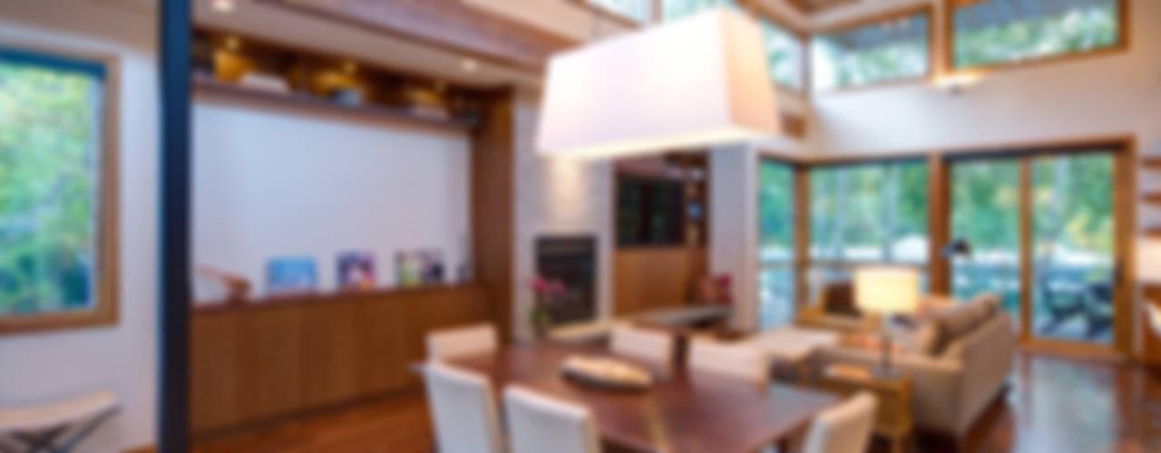 Denver Street Lot 7 Salas de jantar modernas por Uptic Studios Moderno