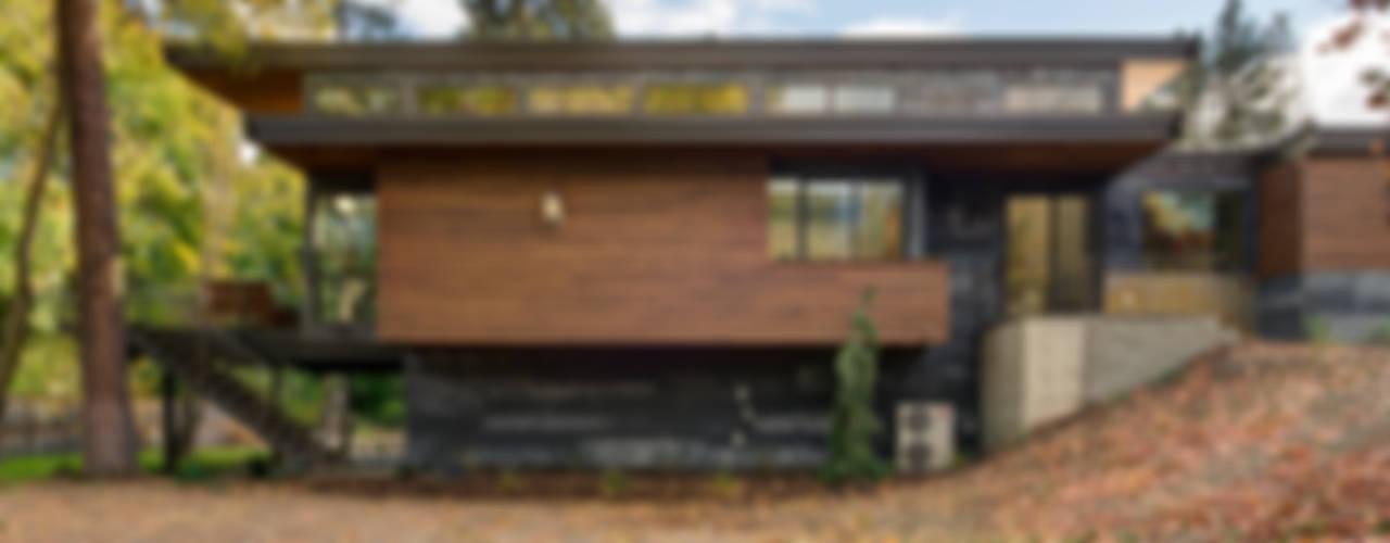 Projekty,  Domy zaprojektowane przez Uptic Studios, Nowoczesny
