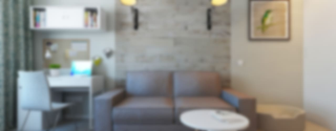 Salas de estilo escandinavo de Ekaterina Donde Design Escandinavo