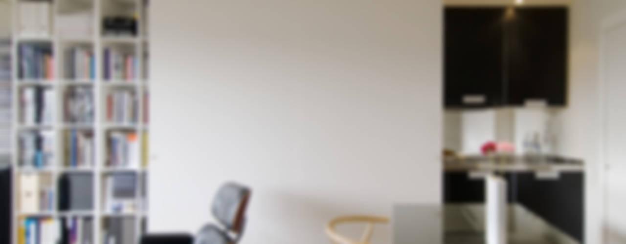 REFORMA DE APARTAMENTO EN CASCO HISTÓRICO, OURENSE RDLC Salones de estilo minimalista