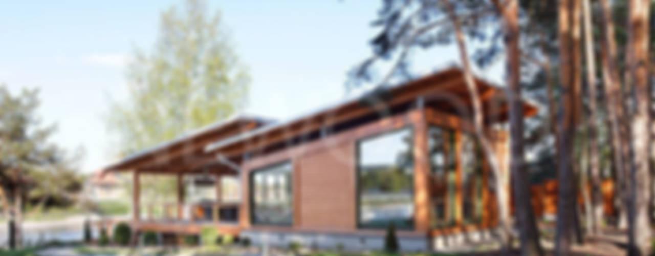 """""""Скандинавия 150"""": Дома в . Автор – NEWOOD - Современные деревянные дома"""
