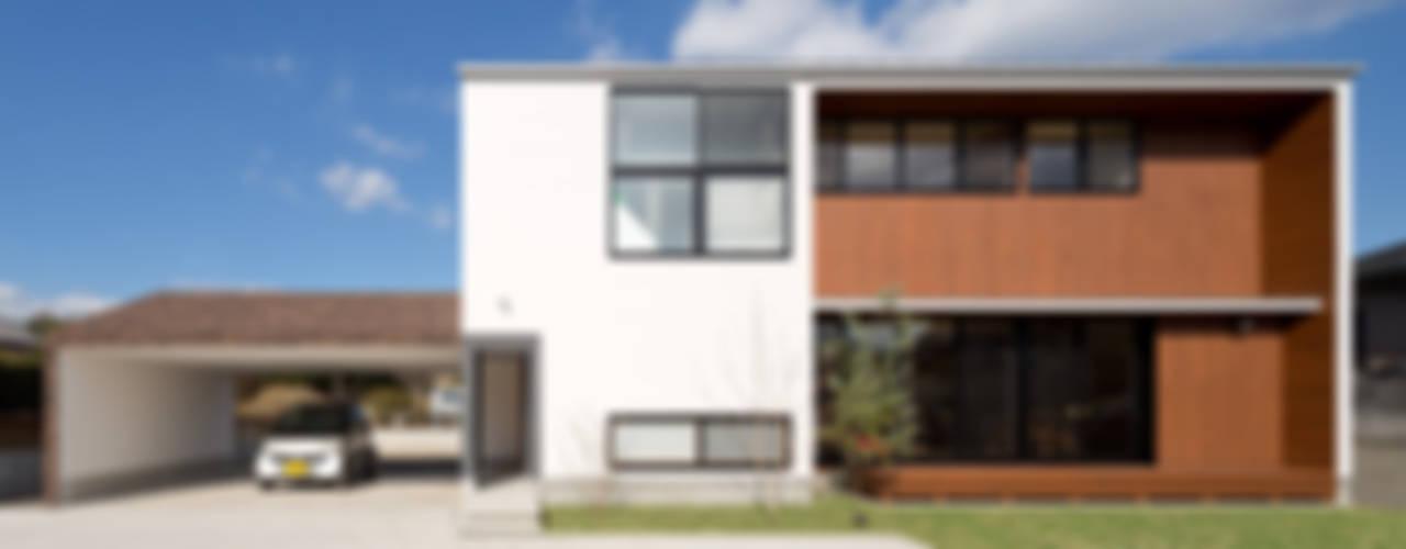 Дома в стиле модерн от 株式会社プラスディー設計室 Модерн