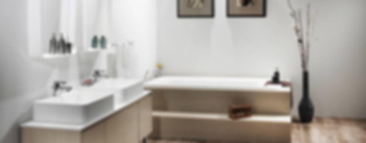 라운드시리즈: Saturnbath의  욕실
