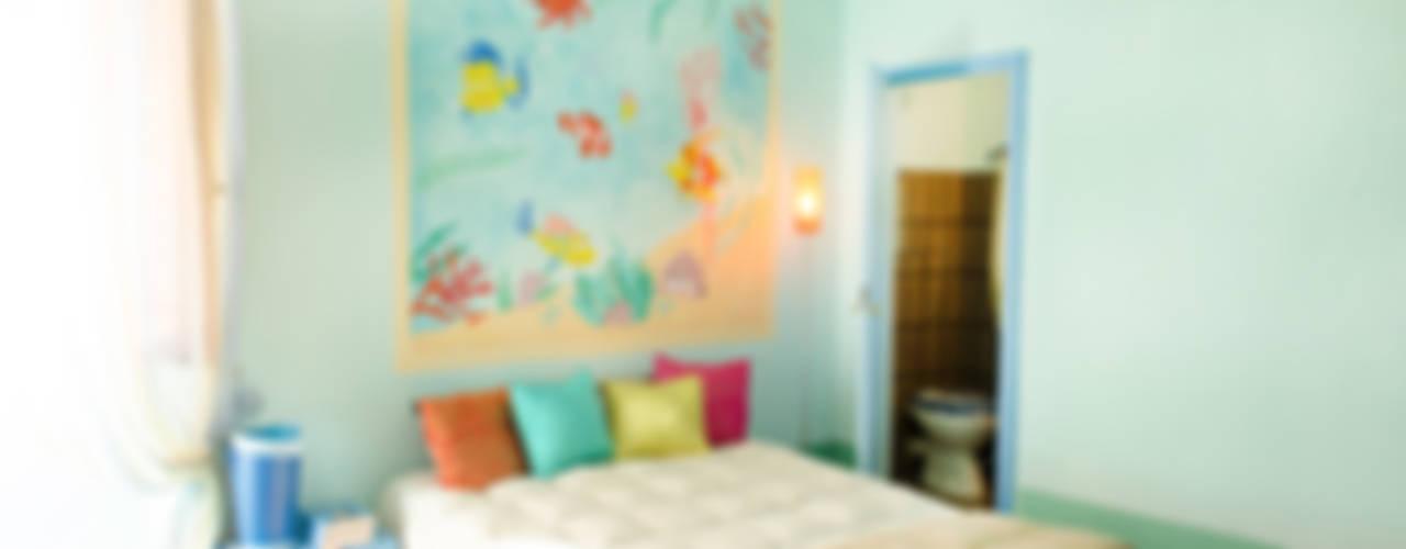 Marianna Leinardi Mediterranean style bedroom