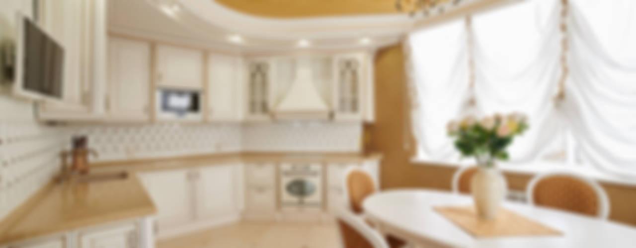 Интерьеры жилого дома в пос.Дубовое ООО 'Архитектурное бюро Доценко' Кухни в эклектичном стиле