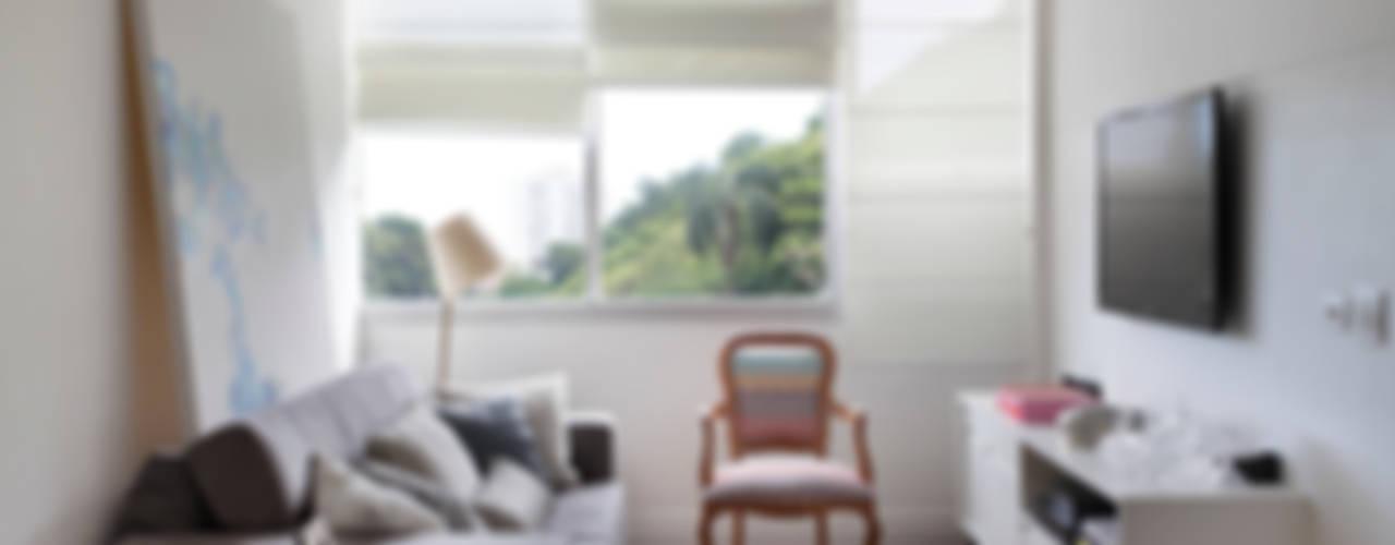 Apartamento 08 Salas de estar modernas por Estúdio Barino | Interiores Moderno