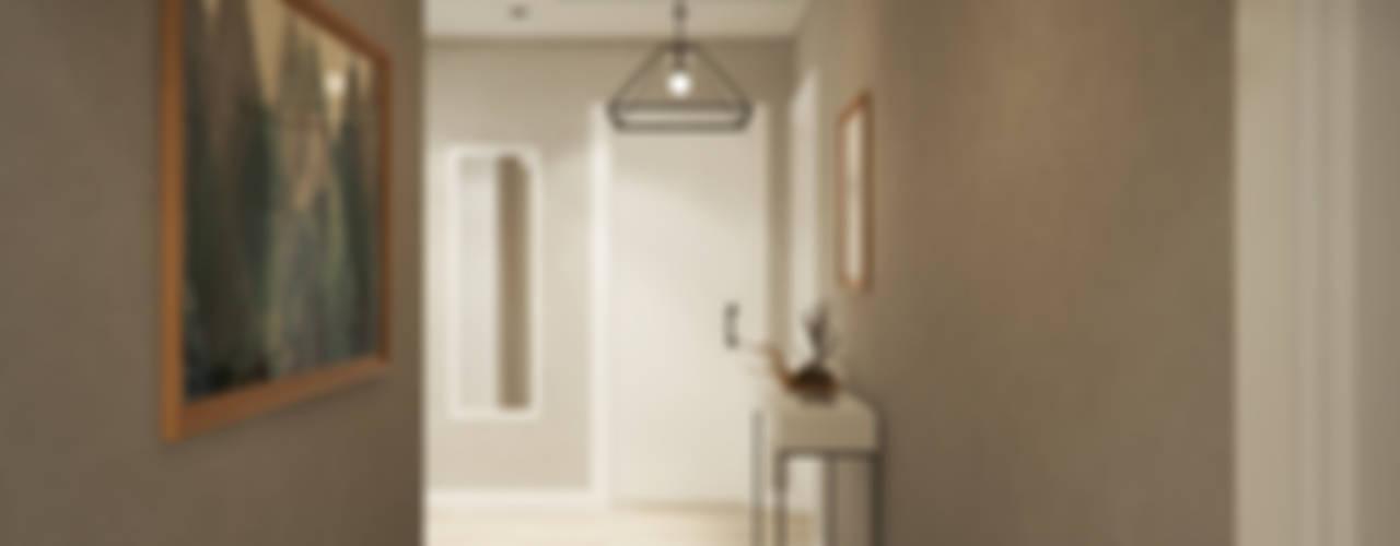 D&S Altaş Home Modern Koridor, Hol & Merdivenler yücel partners Modern