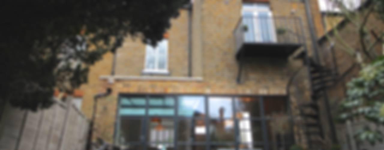Full House Renovation with Crittall Extension, London Industriële huizen van HollandGreen Industrieel
