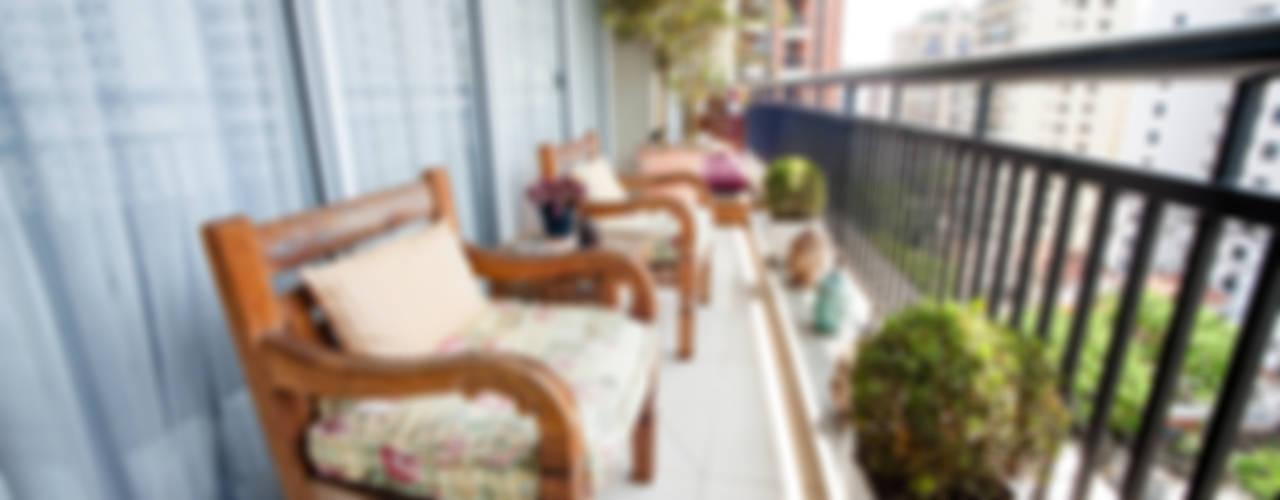 Perdizes I: Terraços  por Casa 2 Arquitetos