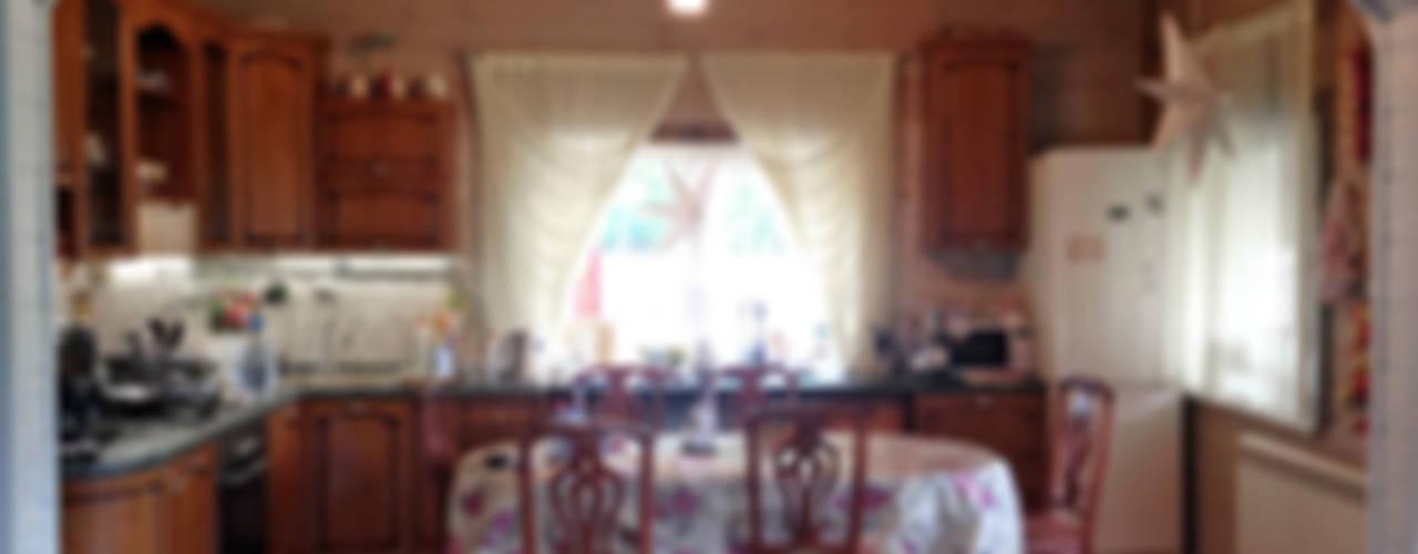 Кухня до переделки:  в . Автор – Дизайн-студия HOLZLAB