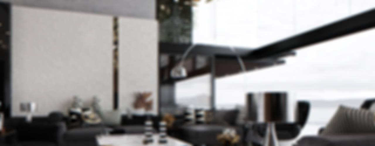 Home 001 Гостиные в эклектичном стиле от Aksenova&Gorodkov project Эклектичный