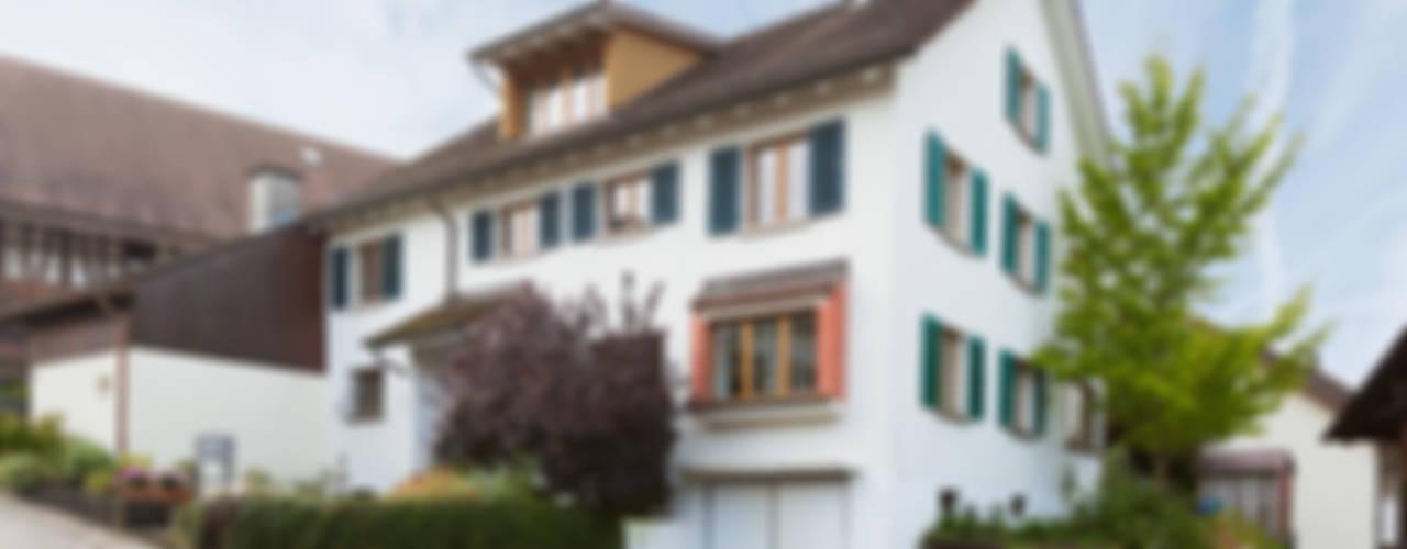 Totalsanierung und Neustrukturierung Einfamilienhaus Moderne Häuser von von Mann Architektur GmbH Modern