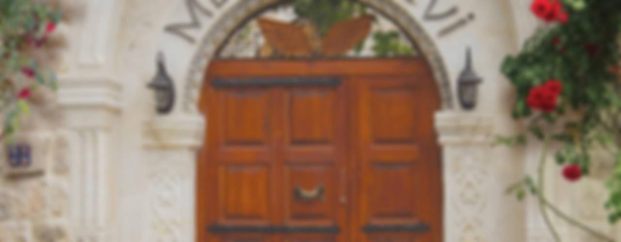 Melekler Evi Akdeniz Koridor, Hol & Merdivenler Erinal Mimarlık İnşaat Ltd. Şti Akdeniz