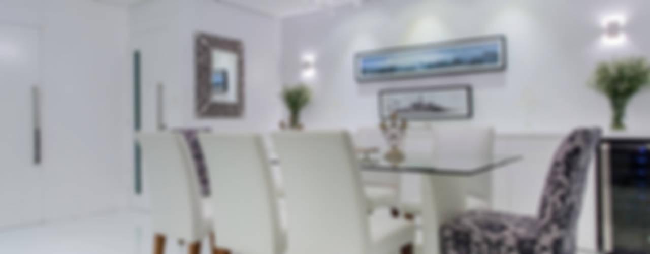 Residência Barra Salas de jantar clássicas por Milla Holtz & Bruno Sgrillo Arquitetura Clássico