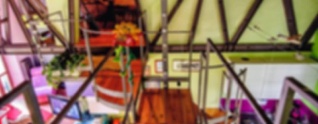 ABITARE CON BRIO Ingresso, Corridoio & Scale in stile eclettico di Studio Prospettiva Eclettico
