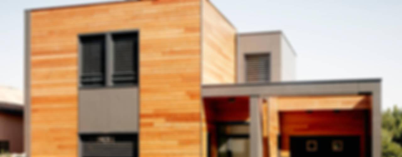 Дома в стиле модерн от Cendrine Deville Jacquot, Architecte DPLG, A²B2D Модерн