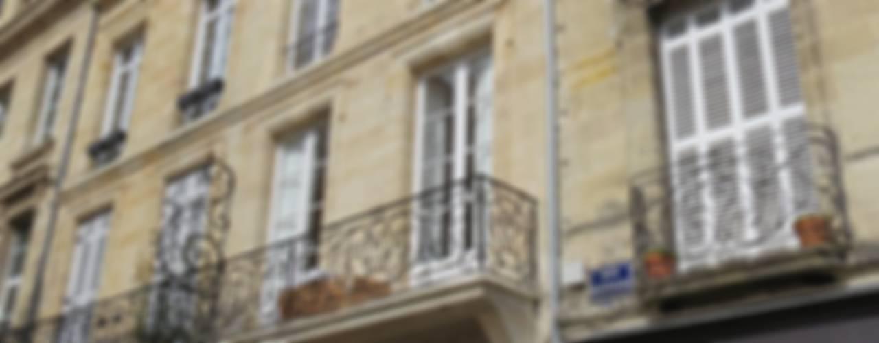 RÉHABILITATION LOGEMENTS COLLECTIFS Maisons classiques par Cendrine Deville Jacquot, Architecte DPLG, A²B2D Classique