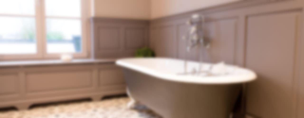 Ванная в колониальном стиле от Kenny&Mason Колониальный