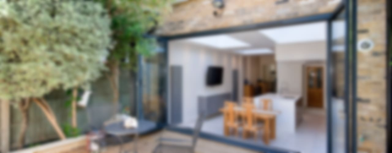 Putney, Wandsworth SW6 London | Kitchen house extension Modern houses by GOAStudio | London residential architecture Modern