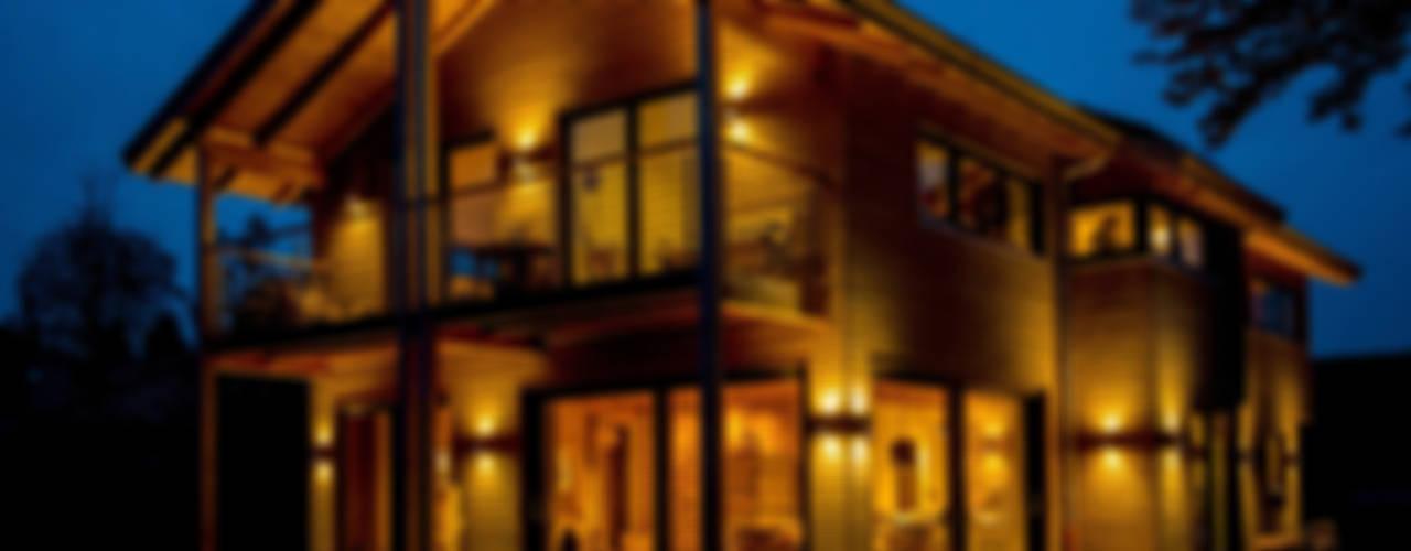 Modernes Landhaus in Holzbauweise Landhäuser von architektur. malsch - Planungsbüro für Neubau, Sanierung und Energieberatung Landhaus
